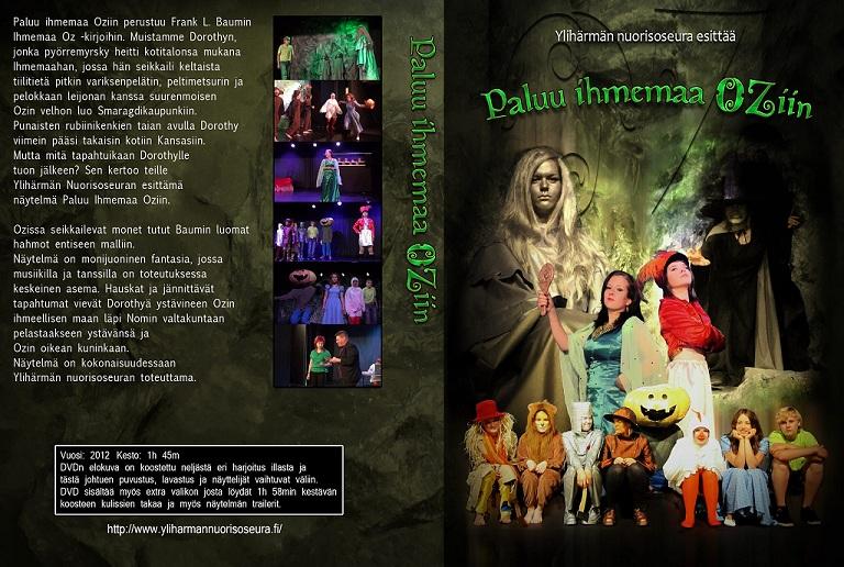 Paluu Ihmemaa Oziin dvd1